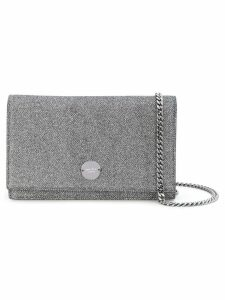 Jimmy Choo Florence sparkly crossbody bag - Silver