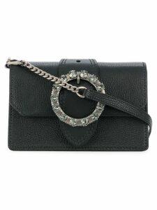 Miu Miu embellished buckle mini bag - Black