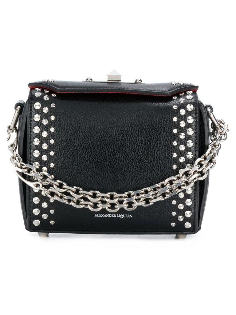 Alexander McQueen embellished Box bag - Black