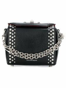 Alexander McQueen embellished Box bag - Black