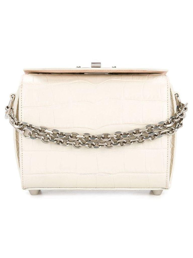 Alexander McQueen Box bag - White