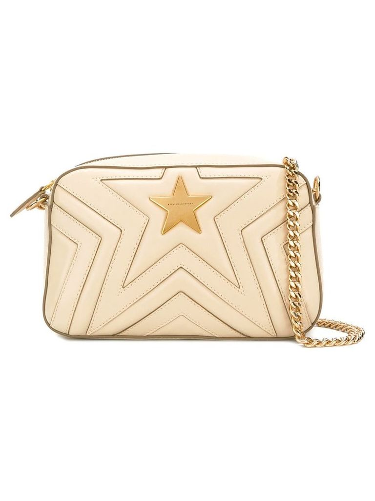 Stella McCartney Small Stella Star shoulder bag - Neutrals