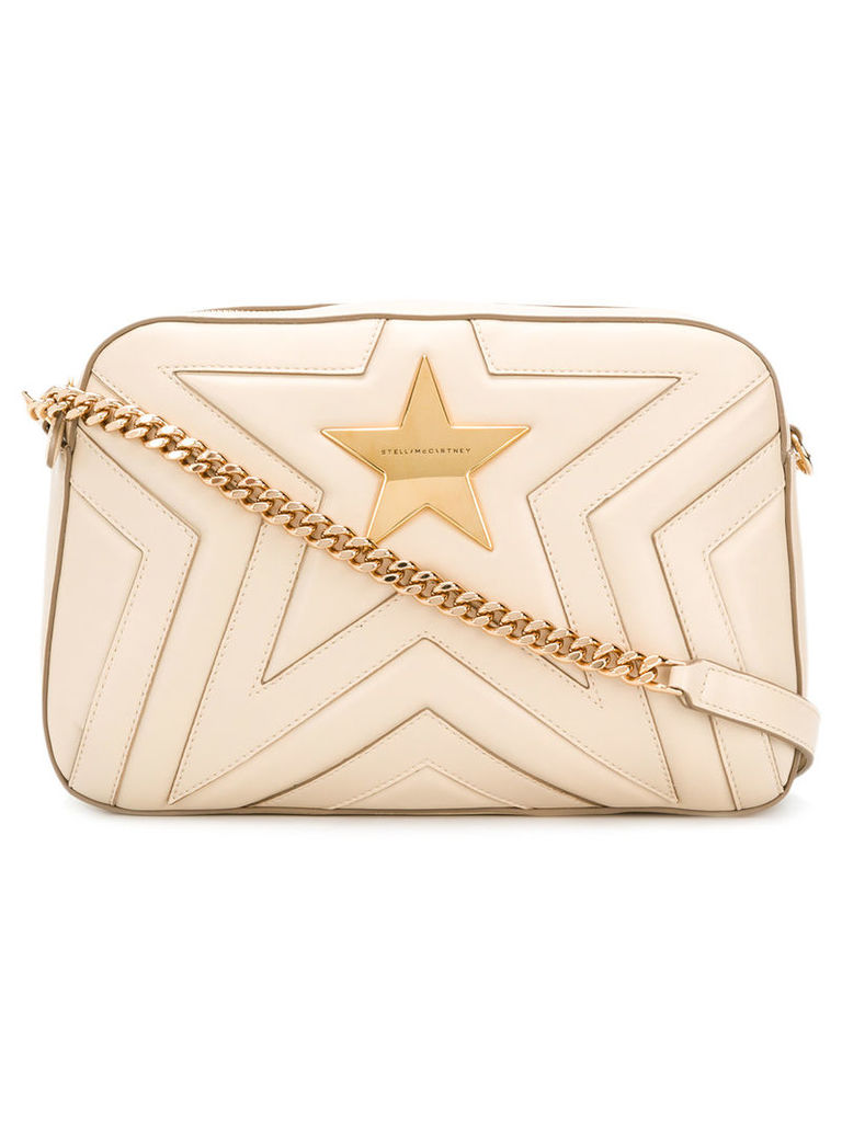 Stella McCartney Stella Star shoulder bag - Neutrals