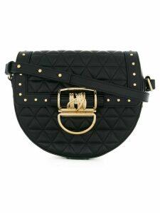 Balmain studded quilted shoulder bag - Black