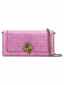 Bottega Veneta Olimpia knot shoulder bag - Pink