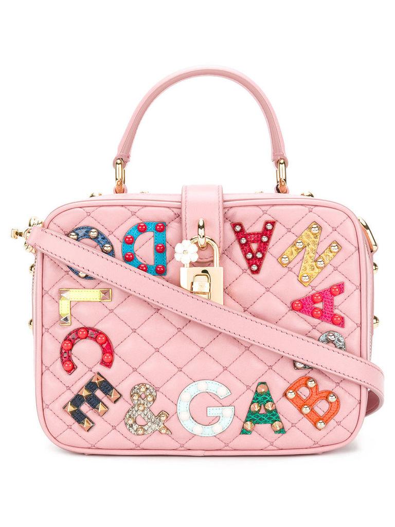 Dolce & Gabbana Dolce Soft mini tote bag - Pink