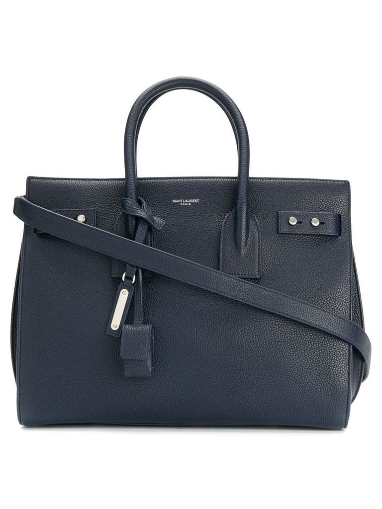 Saint Laurent Sac de Jour tote - Blue