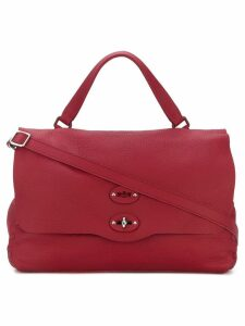 Zanellato medium foldover tote - Red