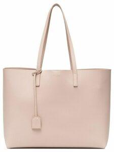 Saint Laurent pink shopper leather tote bag