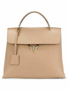 Salvatore Ferragamo satchel tote bag - Neutrals