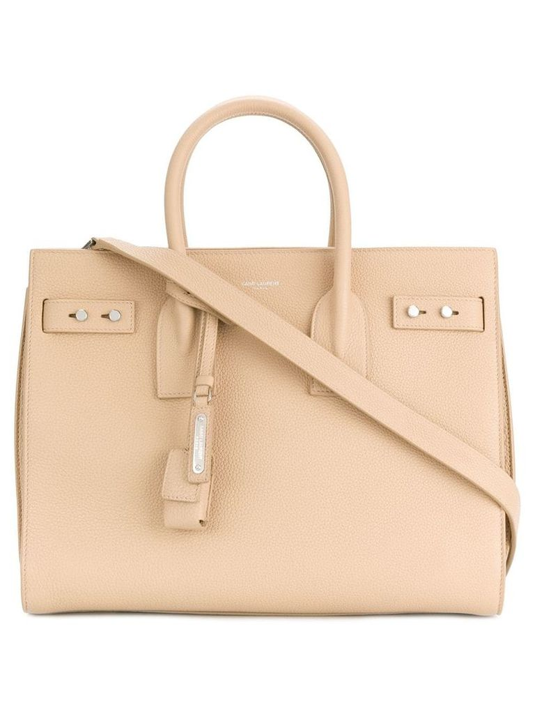 Saint Laurent Sac De Jour Souple tote - Neutrals