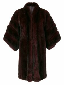 Christian Dior Pre-Owned Pine Marten Fur coat - Red