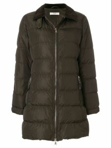 Prada Pre-Owned zipped padded coat - Brown