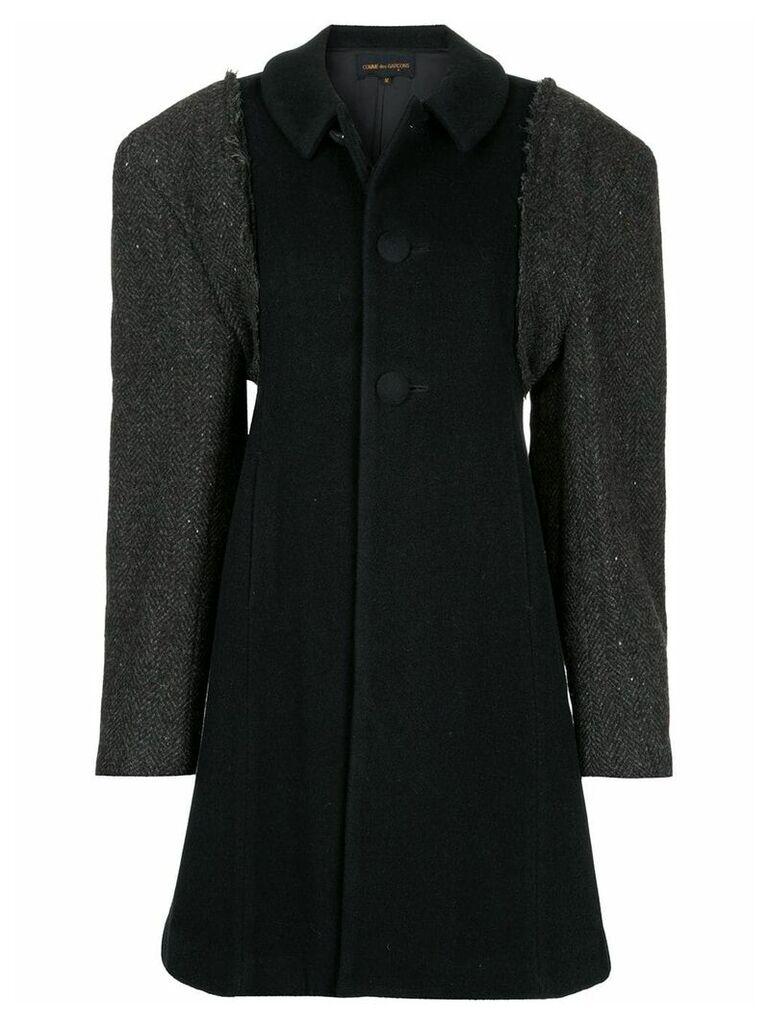 Comme Des Garçons Vintage single breasted coat - Black