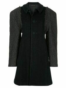 Comme Des Garçons Pre-Owned single breasted coat - Black