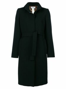 Dolce & Gabbana Pre-Owned belted midi coat - Black