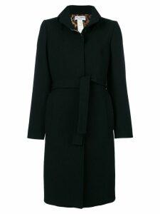 DOLCE & GABBANA PRE-OWNED belted midi coat - Black