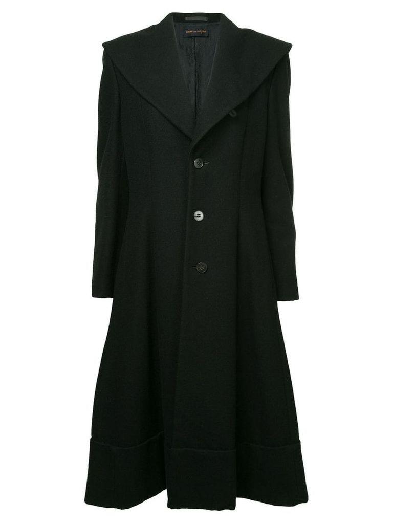 Comme Des Garçons Vintage oversized collar coat - Black