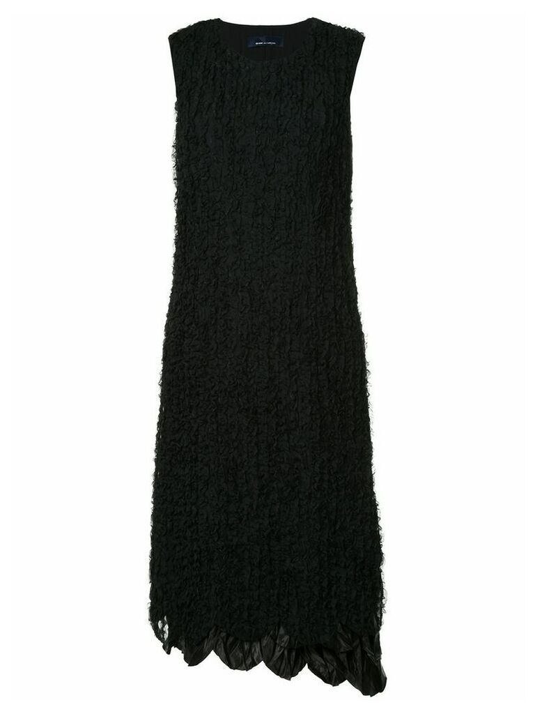 Comme Des Garçons Vintage ruffled front dress - Black