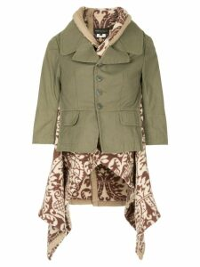 Comme Des Garçons Pre-Owned military-style jacket - Green