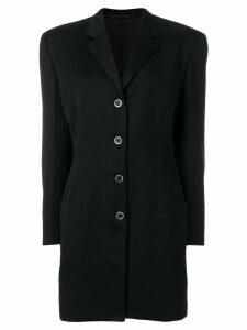 Versace Pre-Owned mid-length blazer - Black