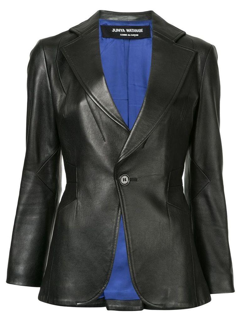 Junya Watanabe Comme Des Garçons Vintage slim-fit leather blazer -