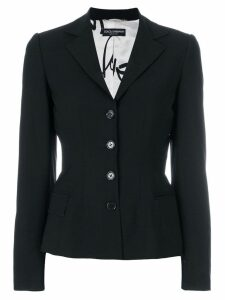 Dolce & Gabbana Pre-Owned slim fit blazer - Black