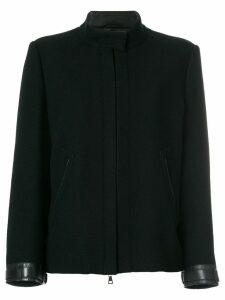Prada Pre-Owned concealed front jacket - Blue