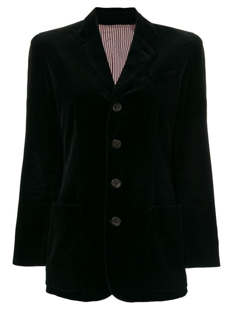 Jean Paul Gaultier Pre-Owned classic blazer - Black