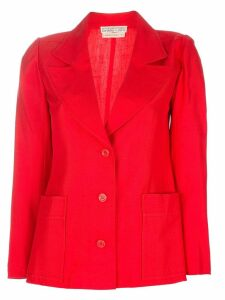 Emanuel Ungaro Pre-Owned classic blazer - Red