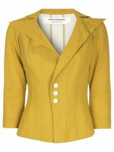 JUNYA WATANABE COMME DES GARÇONS PRE-OWNED oversized collar blazer -