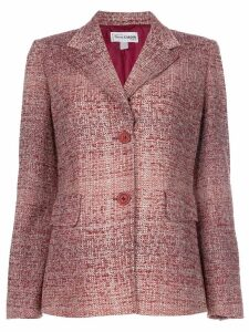 Pierre Cardin Pre-Owned boucle knit jacket - Red