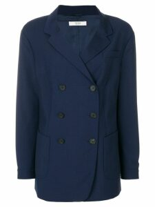 Prada Pre-Owned double breasted jacket - Blue