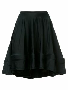 COMME DES GARÇONS PRE-OWNED flared skirt - Black