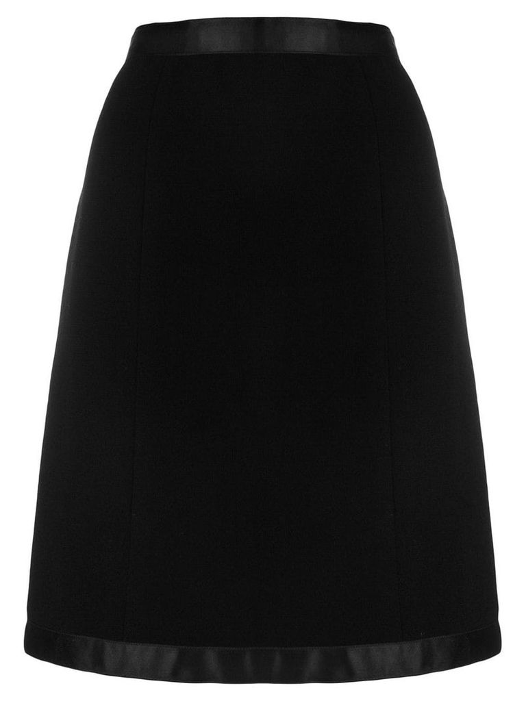 Chanel Pre-Owned a-line skirt - Black