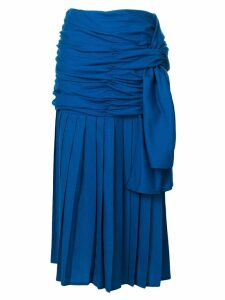 Versace Pre-Owned draped midi skirt - Blue