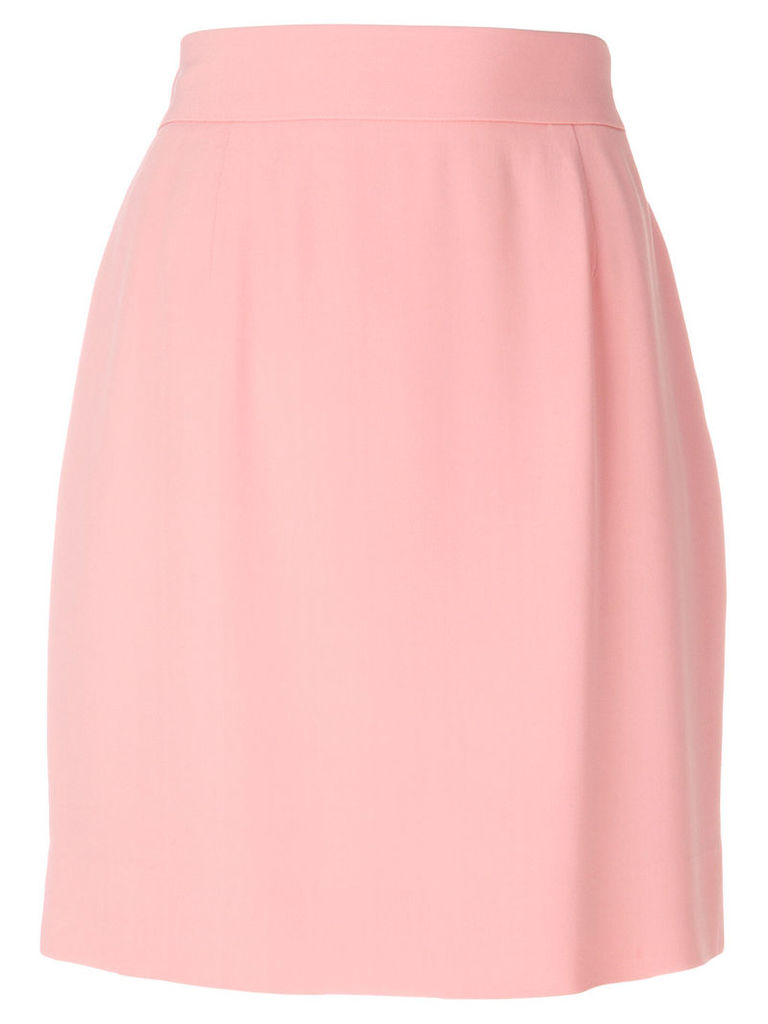 Moschino Vintage classic a-line skirt - Pink