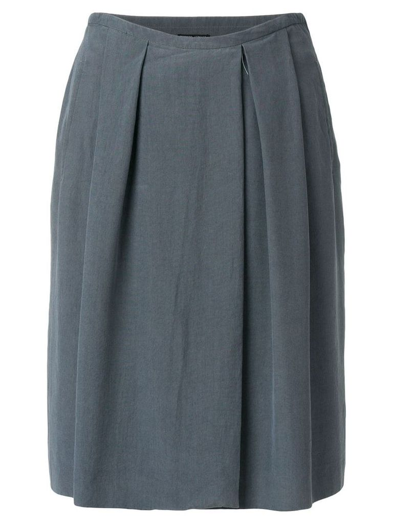 Giorgio Armani Pre-Owned pleated skirt - Grey
