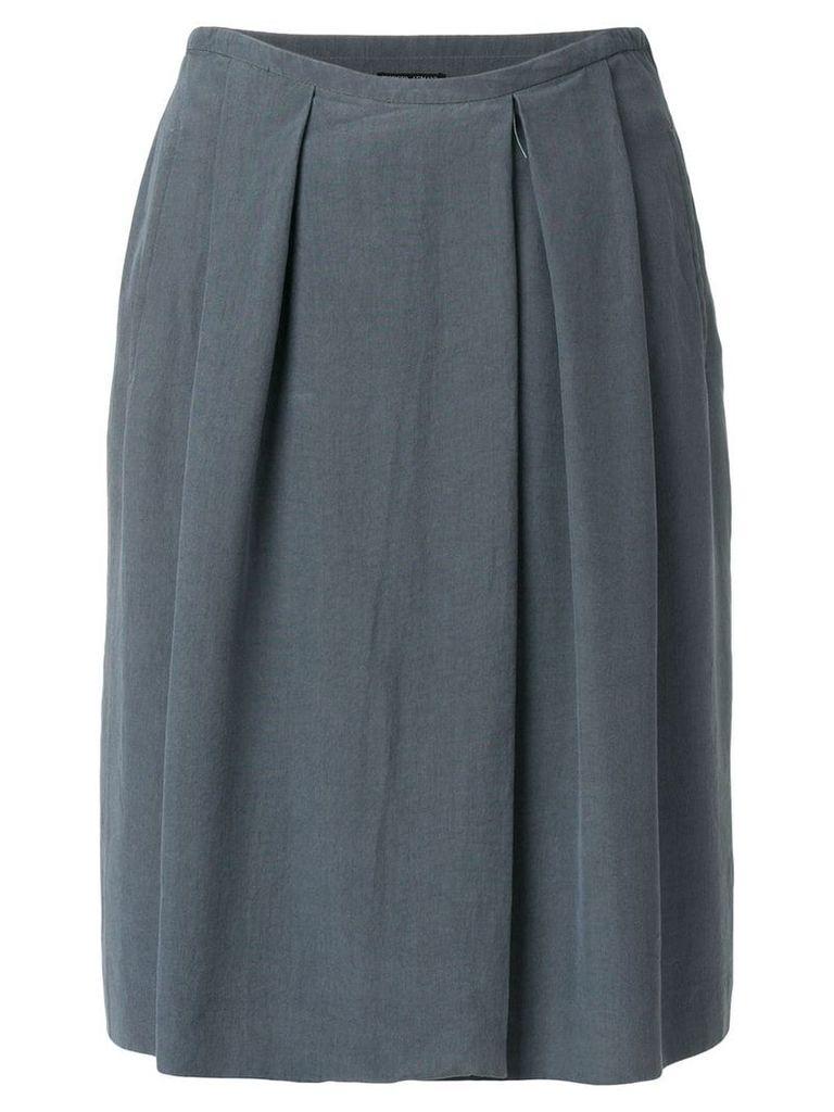Giorgio Armani Vintage pleated skirt - Grey