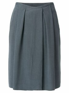 Giorgio Armani Pre-Owned pleated skirt - Grey