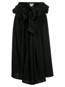 Yohji Yamamoto knitted skirt - Black