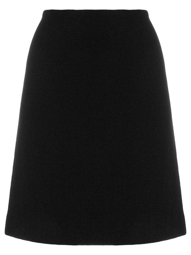 Moschino Pre-Owned midi a-line skirt - Black