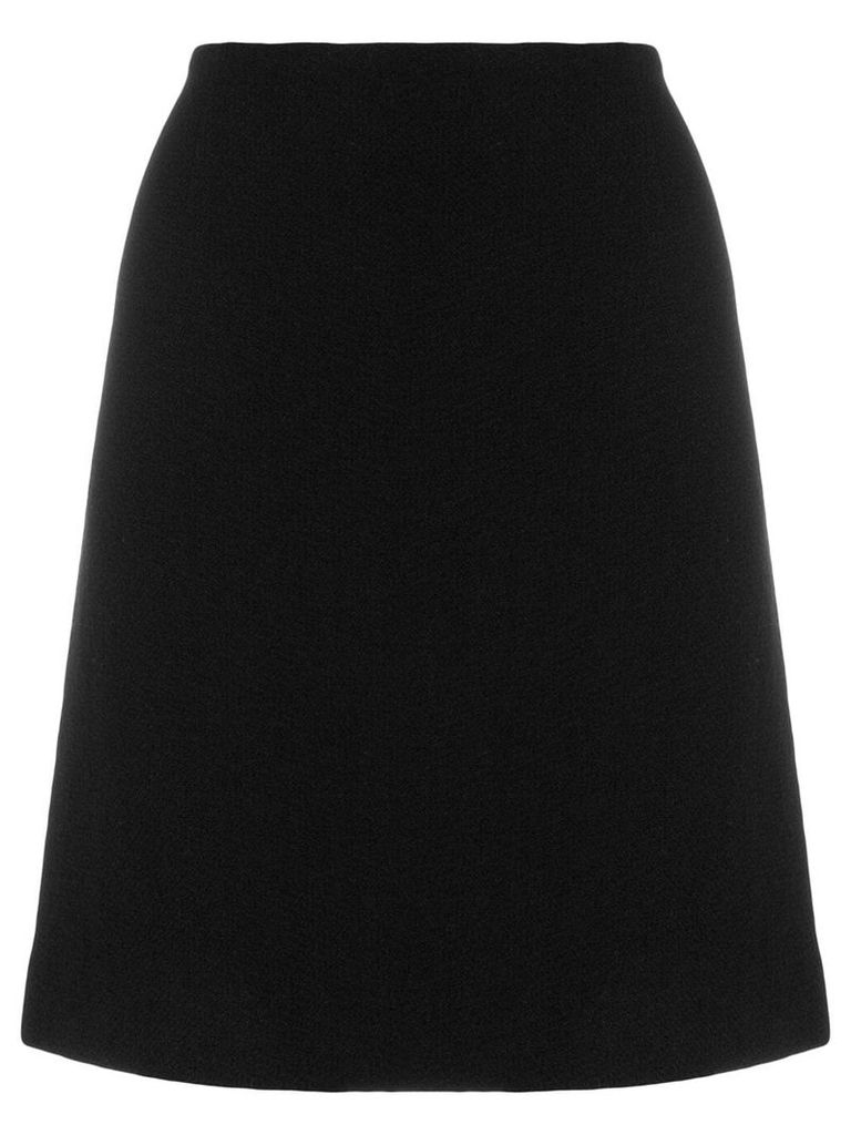 Moschino Vintage midi a-line skirt - Black
