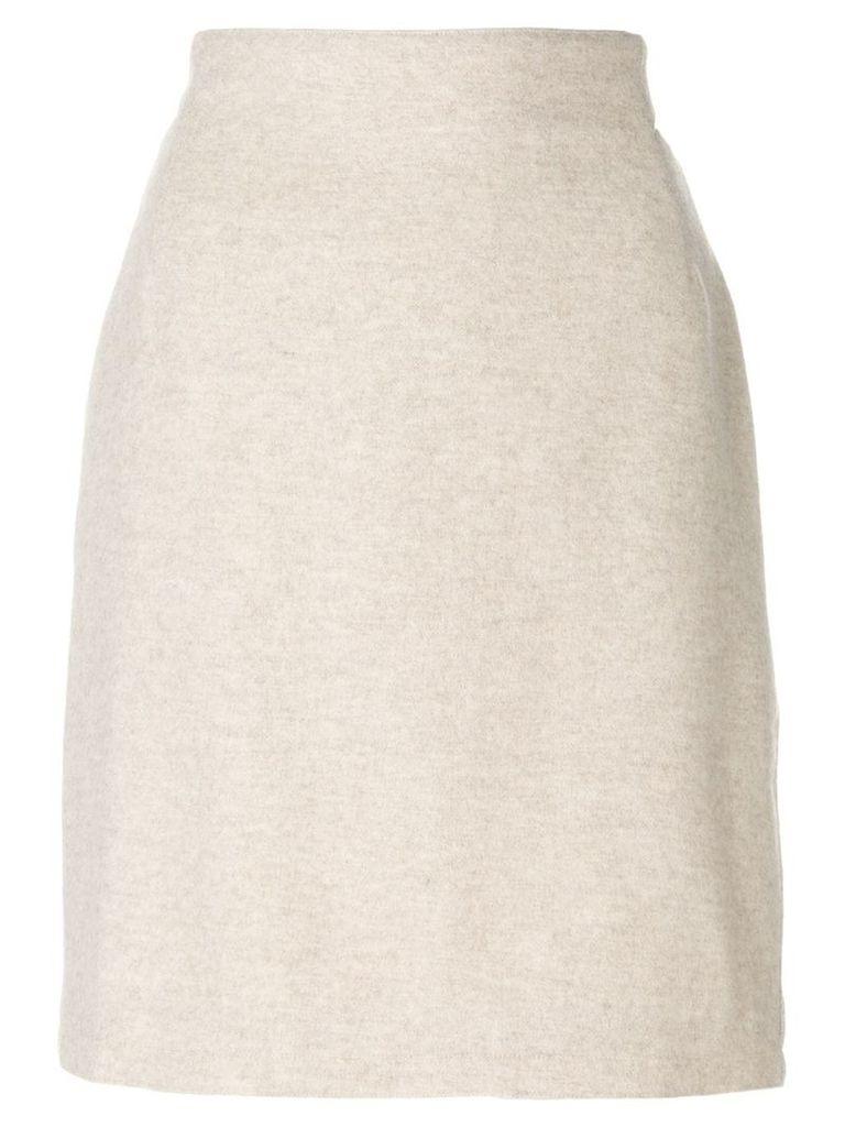 Versace Vintage pencil skirt - Neutrals