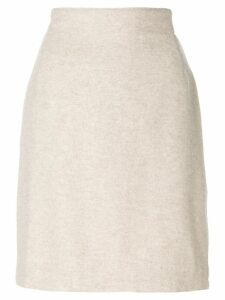 Versace Pre-Owned pencil skirt - Neutrals