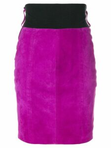 Gianfranco Ferre Pre-Owned fitted short skirt - Pink