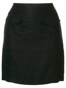 Versace Pre-Owned mini fitted skirt - Black