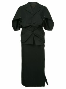 Comme Des Garçons Pre-Owned jacket and skirt suit - Black