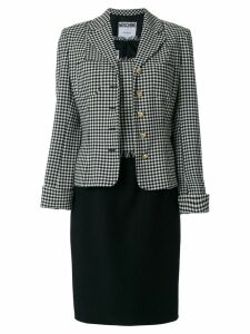 Moschino Pre-Owned dress and jacket suit - Black