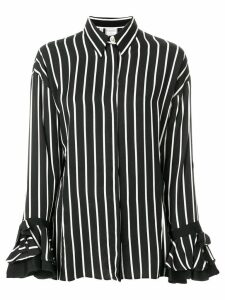 Versace Pre-Owned striped shirt - Black
